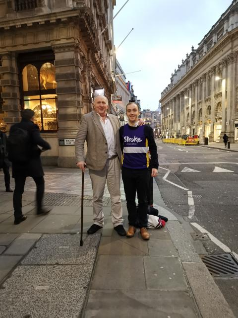 Reading resident to go the extra 26 miles for the Stroke Association