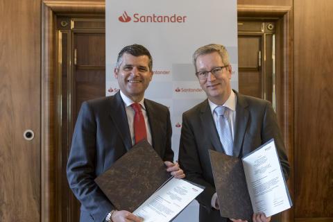 Santander unterstützt Hispanistentag