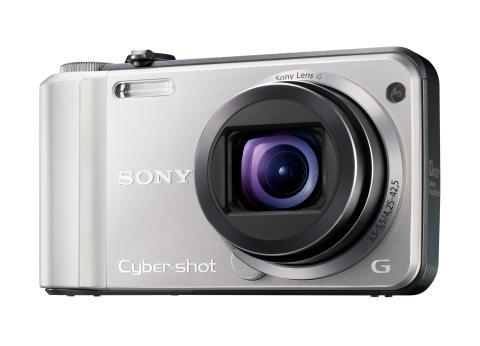 Cyber-shot DSC-H70 von Sony_Silber_02