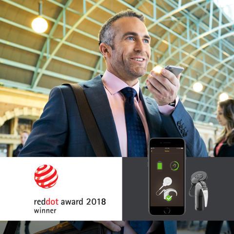 Nucleus® 7 Soundprozessor erhält Red Dot Award