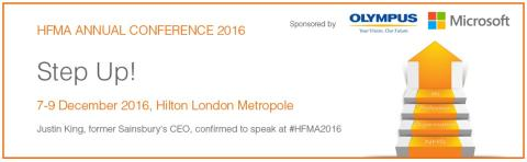 Finegreen exhibiting at the HFMA Annual Conference 2016 this week!