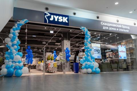JYSK feiert Neueröffnung in Russland