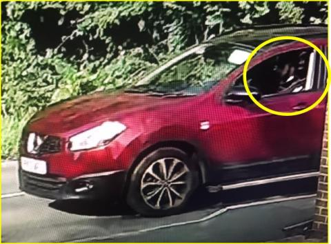 APPEAL: Man in the passenger's seat