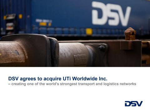 Fact sheet DSV/UTi transaction