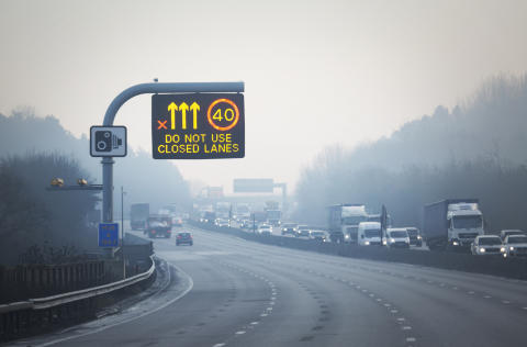 A fifth of drivers have ignored smart motorway 'red X' signs