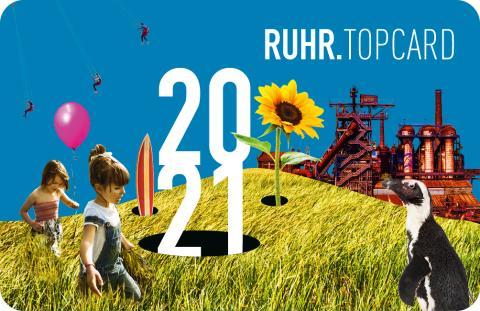 Ab 26. November erhältlich: Die RUHR.TOPCARD geht auch 2021 an den Start