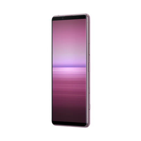 Xperia 5 II_front_angled_pink_01