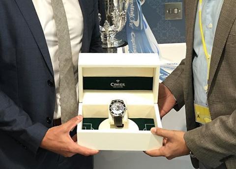 "Publication of news ""Cimier has released a new chronometer QNetCity in honor of Manchester City"". Публикация ""Cimier выпустил новый хронометр QNetCity в честь Манчестер Сити"""