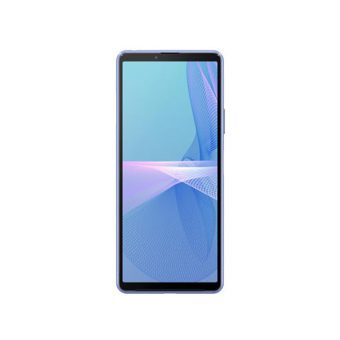 Xperia 10 III_front_blue