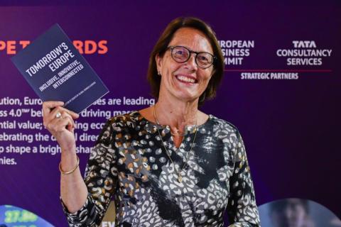 TCS en EBS lanceren essay bundel: 'Tomorrow's Europe: Inclusive, Innovative, Interconnected'