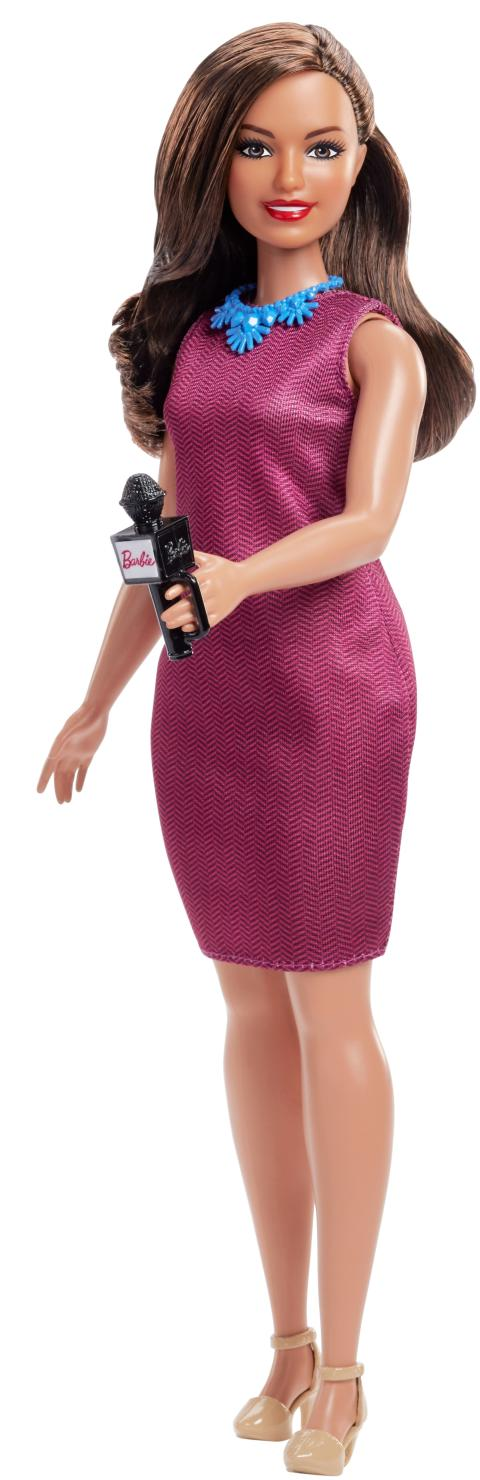 Barbie 60. Jubiläum Karriere-Puppe Journalistin