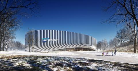 ZÜBLIN erhält Rohbau-Auftrag für SAP Garden in München