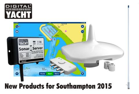 New navigation, communication and entertainment products from Digital Yacht at the Southampton Boat Show