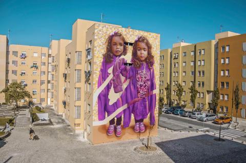 TelmoMiel brings bright, happy, figurative art to No Limit Street Art