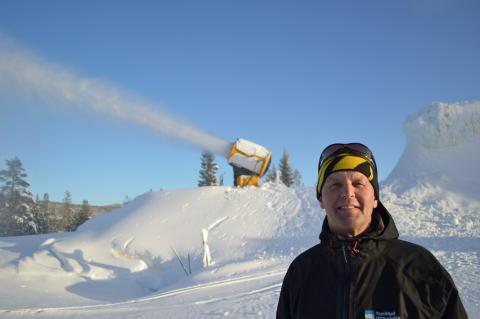Ola Gerhard Sørhuus - ansvarlig for tidligsnø hos Trysilfjell Utmarkslag