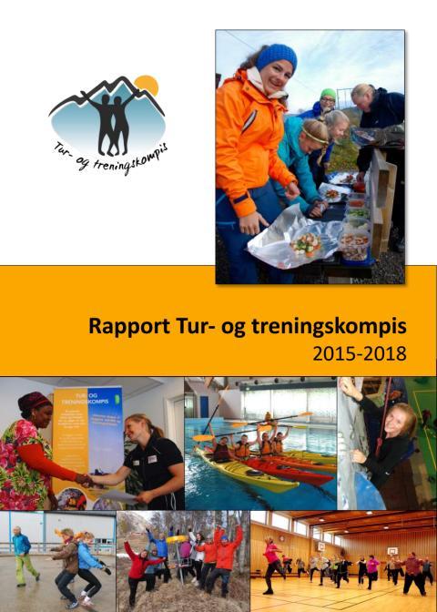 """Rapport fra prosjektet """"Tur- og treningskompis"""" 2015-2018"""