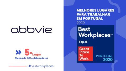 AbbVie eleita melhor farmacêutica para trabalhar em Portugal