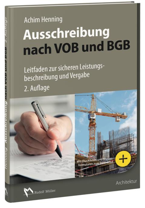 Ausschreibung nach VOB und BGB 3D (tif)