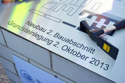 Uniklinikum Jena legt Grundstein für den zweiten Bauabschnitt