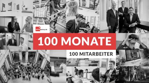 100 Monate APPSfactory