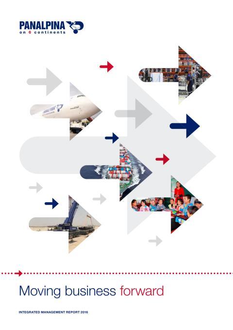 Panalpina Integrated Mananagement Report 2016