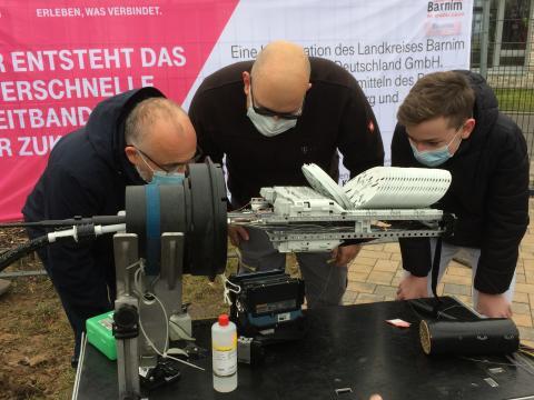 Glasfaser-Ausbau im Landkreis Barnim gestartet