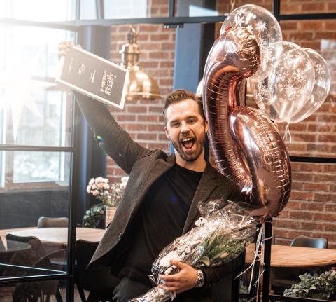 Tim Sandberg är Årets Mäklare 2019