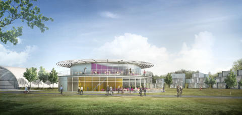 Dyson Institute of Engineering and Technology Clubhouse render