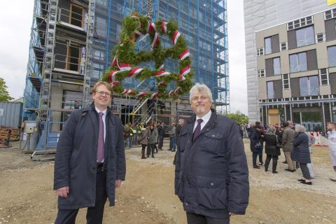 Dr. Bernd Hochberger und Hans Kaplan