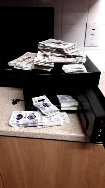 Cash found