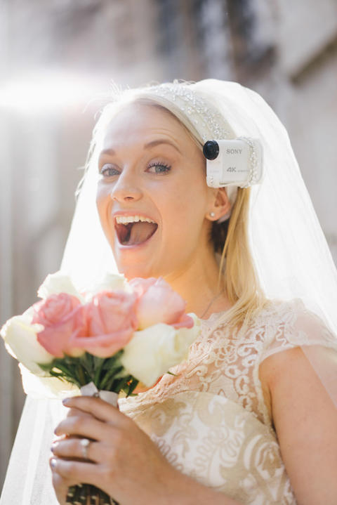 Capture your wedding from 'A Bride's Eye View '