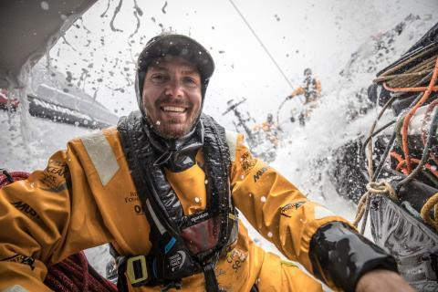 Martin Strömberg deltar som enda svensk i Volvo Ocean Race 2017-2018.