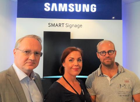 Dafo Brand levererar det digitala ledningssystemet SBA Axess till Samsung Electronics