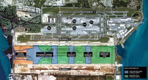 Appointment of Master Building and Civil Consultants for  Changi Airport Terminal 5