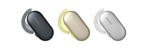 Sony v novih športnih slušalkah združuje vodoodpornost in brezžično uporabo