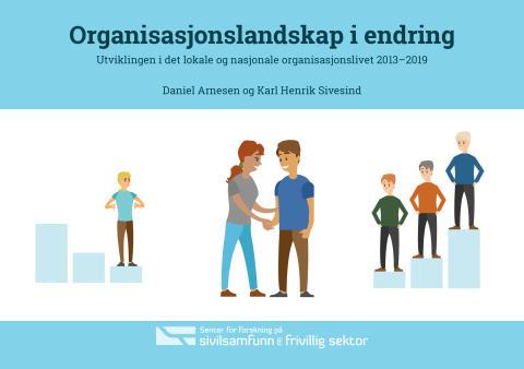 Antallet frivillige organisasjoner øker