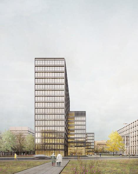 HANSAINVEST Real Assets GmbH: Büroneubau in Hamburger City Nord geplant