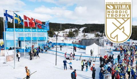 Vasaloppet startskottet för nya tävlingen Visma Nordic Trophy