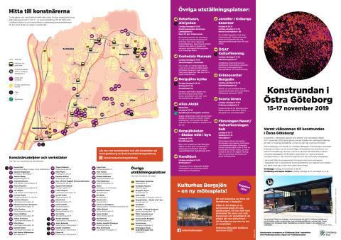Konstrundan i Östra Göteborg program