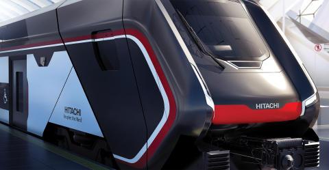 納入する2階建て車両(イメージ)