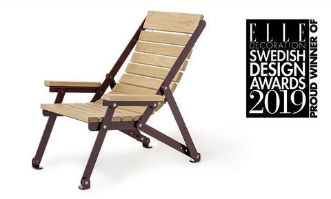 Loj Sunchair - Årets Utemöbel ELLE Decoration