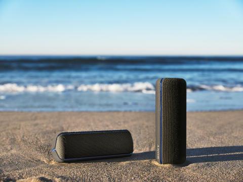 Nowe głośniki Sony EXTRA BASS™ ożywią zabawę mocnym dźwiękiem
