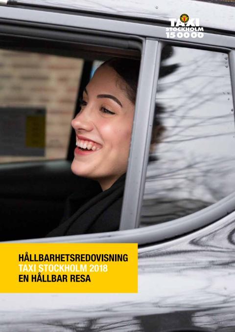 En hållbar resa- Taxi Stockholms hållbarhetsredovisning för 2018