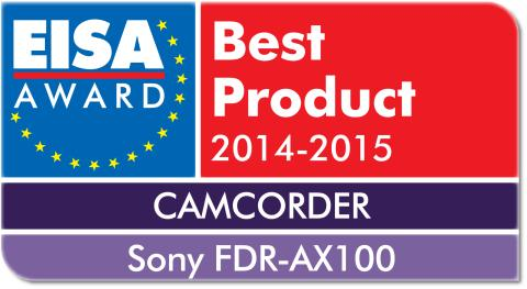 EISA 2014 Camcorder of the Year FDR-AX100