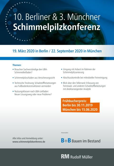 Flyer Schimmelpilzkonferenz 2020