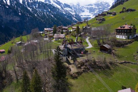 Station Gimmelwald