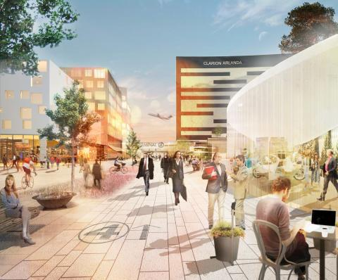 Stark tillväxt 2013 i Airport City Stockholm – fyra miljarder i investeringar, över 1 000 nya arbetstillfällen
