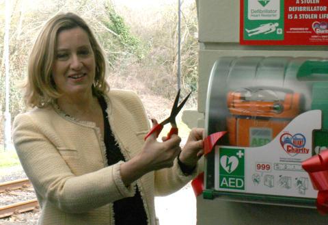 Rail-charity partnership a real life-saver