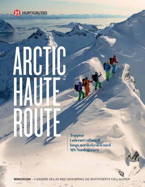 Arctic Haute route brosjyre