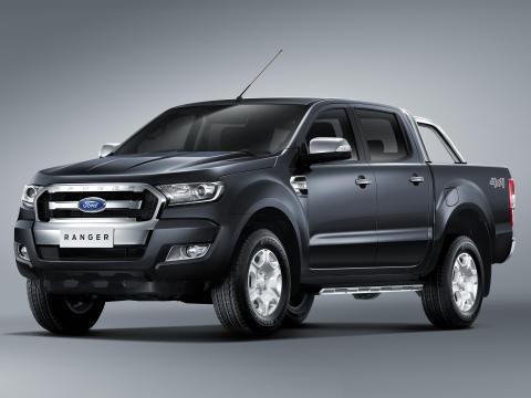 Ford viser ny Ranger Pickup med  tøft design, smart teknologi og lavere forbruk